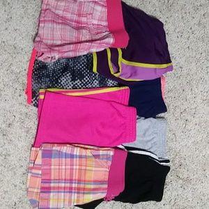 Lot of girls 6/6x shorts EUC